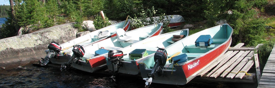 Boat and Motor - ready for fishing