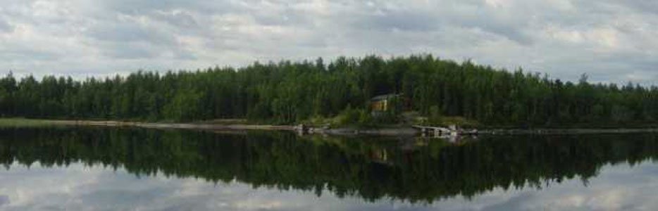 Housekeeping cabin rental with great fishing!