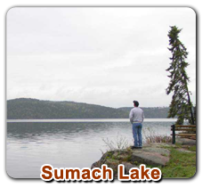 Sumach Lake Fly in Outpost | Five Species of Fish!