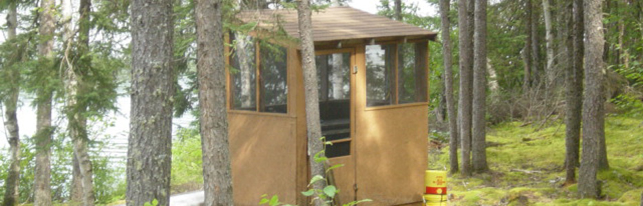 Screened In Fish-Cleaning Shack With Running Water