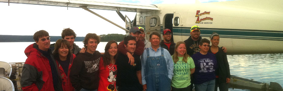 Hanman Family Annual Fly in Fishing Trip 2012