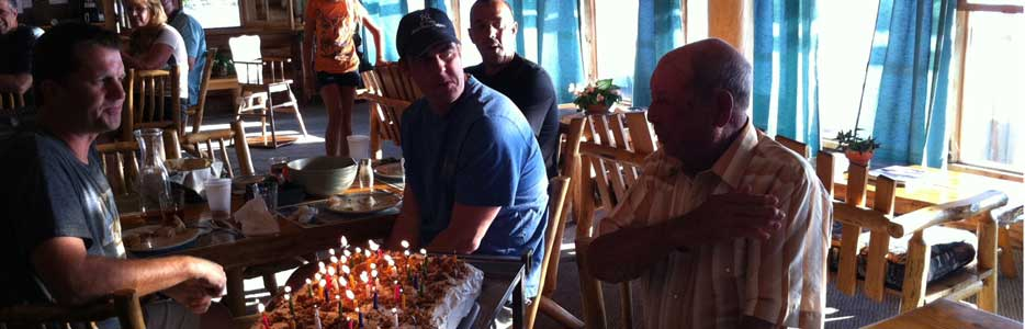 Dod Graybeal Celebrates his 92 Birthday at Cat Island Lodge