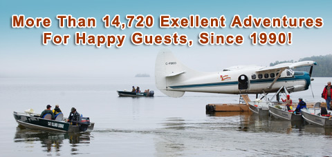 Serving 14720 Excellent Adventures to Happy Guests since 1990