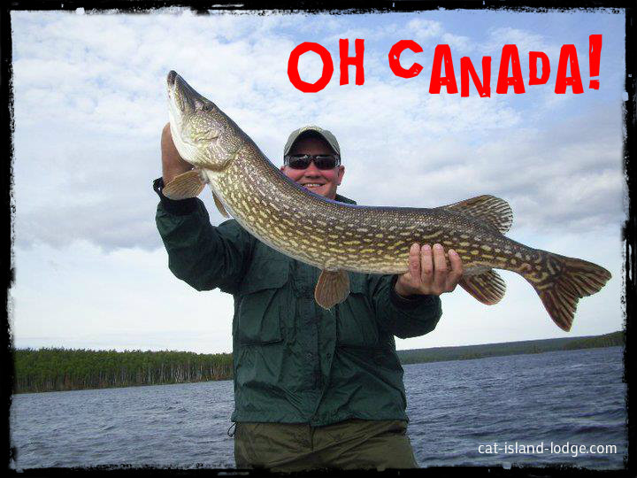 My canadian fly in fishing trip of a lifetime for Ontario fly in fishing