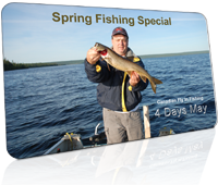 spring opener fishing package