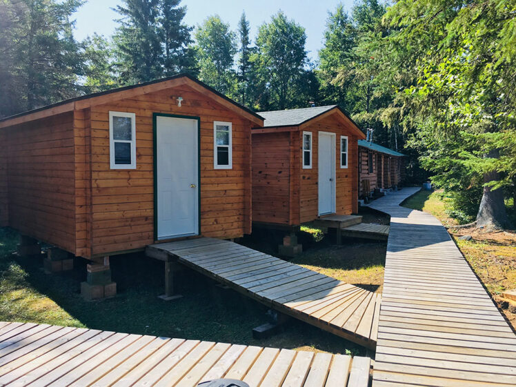 Lount Lake 2 Person Cabins