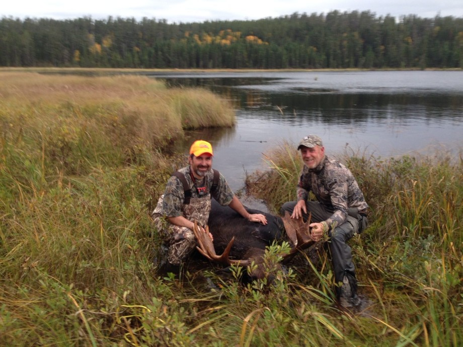 Pakoan Lake Remote Moose Hunt