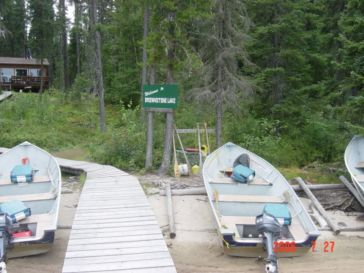 Canadian Fishing Camp North of Ear Falls and Red Lake