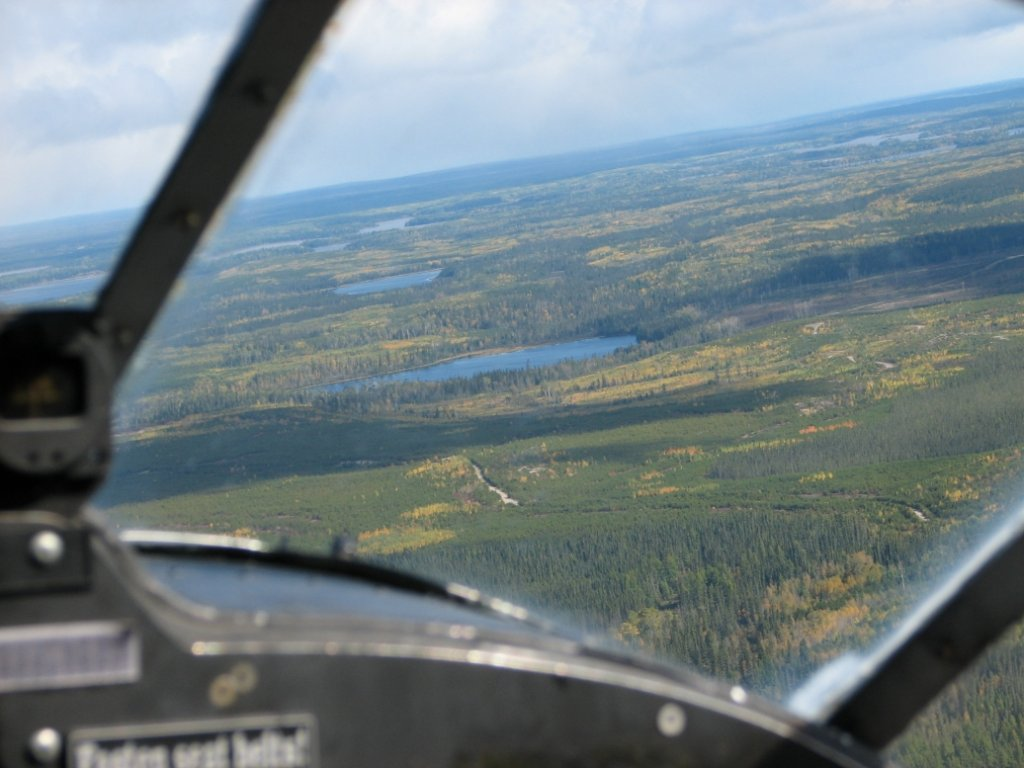 Views from the air for Fly in fishing canada