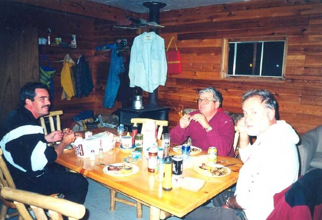Remote fly in outpost cabin for groups of 4 to 6 people for Fish cleaning table bass pro