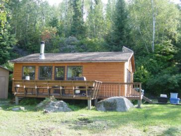 Red Lake Ontario Remote Fishing Cabin