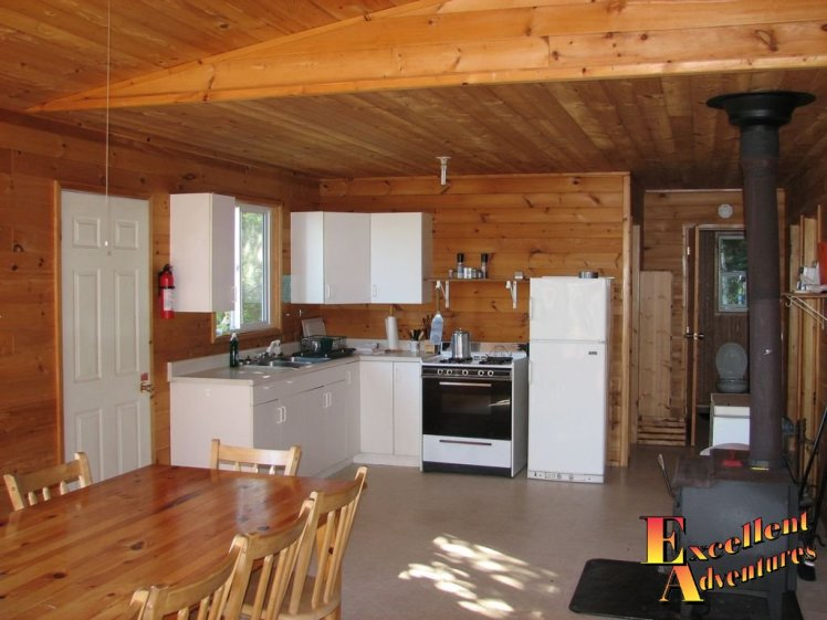 Fishing Cabin with Large Kitchen