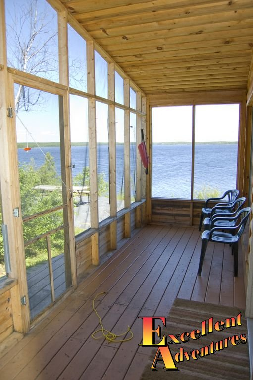 Fishing Camp with screened in deck