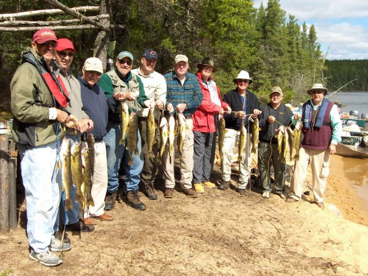 Large Group American Plan Fly in Fishing
