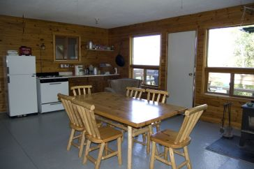 Outpost Cabin with large kitchen.