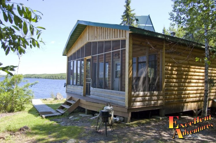Remote Outpost Cabin with Screen Deck